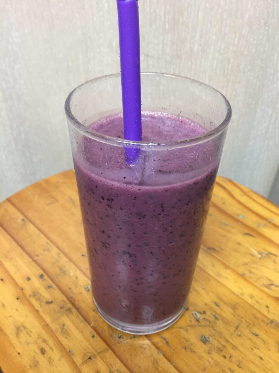 Blueberry & Vanilla Thickshake