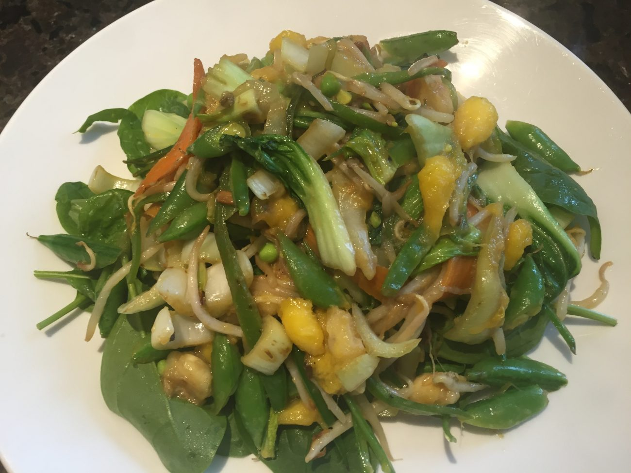 Chicken, Mango and French Beans