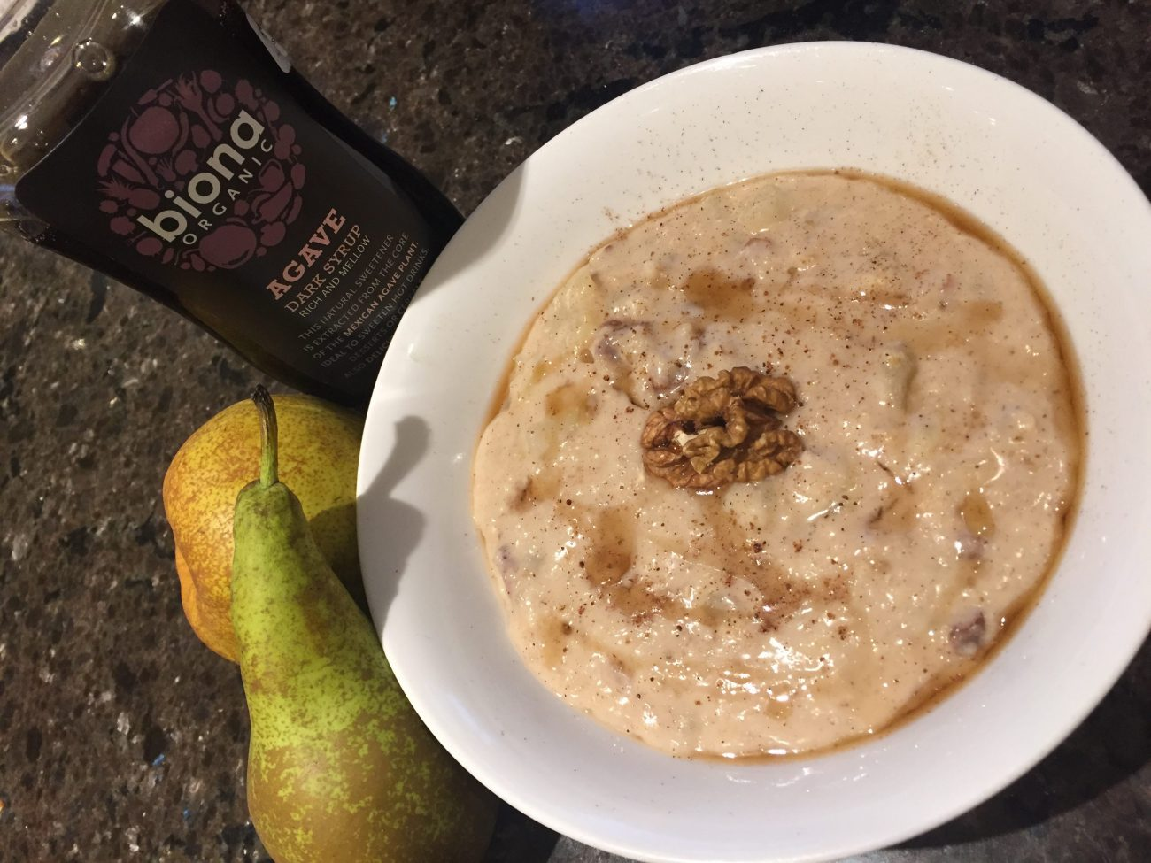 Pear & Walnut Porridge