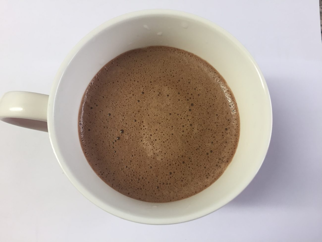 Warming Chocolate Cinnamon Milk