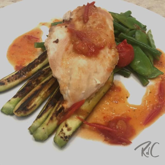 Chicken & Sweet Chilli Vegetables