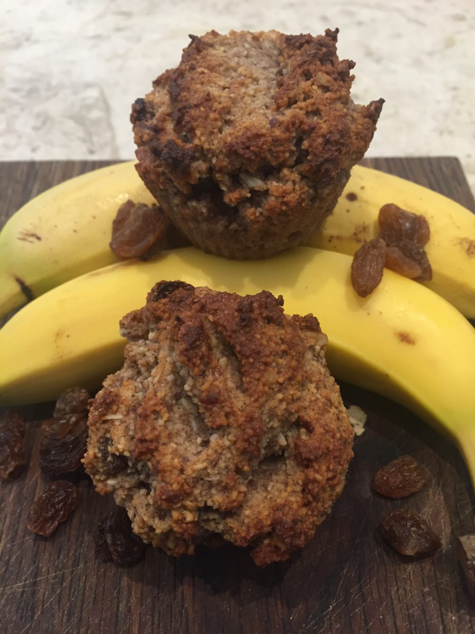 Banana, Pecan & Sultana Muffins