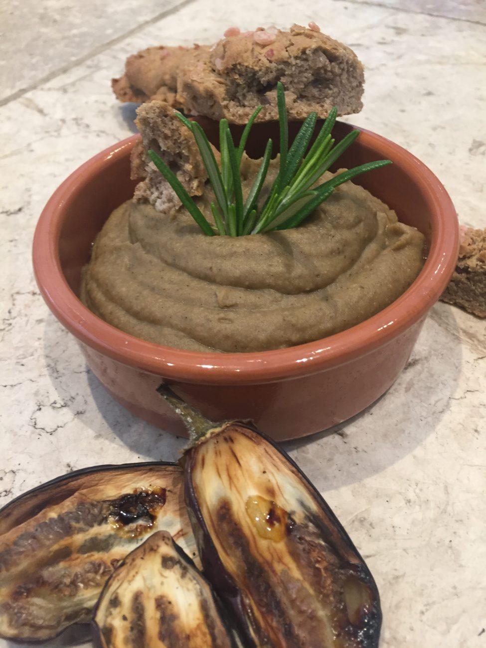 Aubergine Hummus
